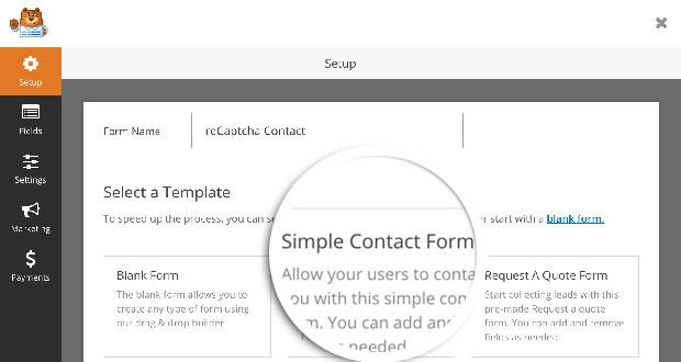 Contact Form Setup