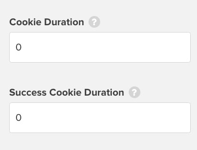 OptinMonster cookie duration