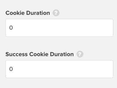 OptinMonster cookie duration