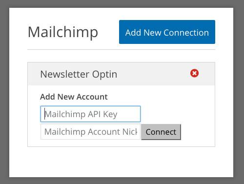 MailChimp Keys