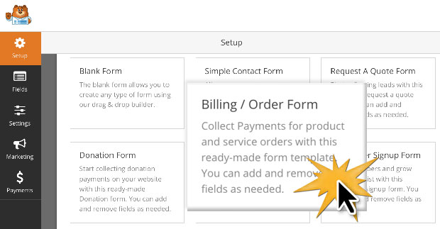 How to Create a Simple Order Form in WordPress Step by Step – Service Order Form Template
