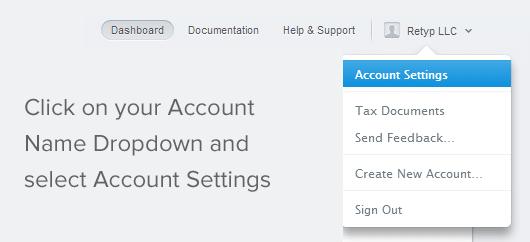 Stripe Account Settings