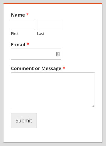 Get more leads with a Contact Form Sidebar Widget