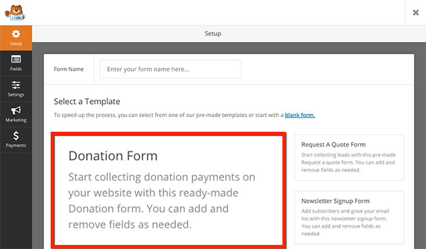 To Create A Nonprofit Donation Form In Wordpress