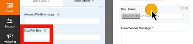 Max File Upload Size