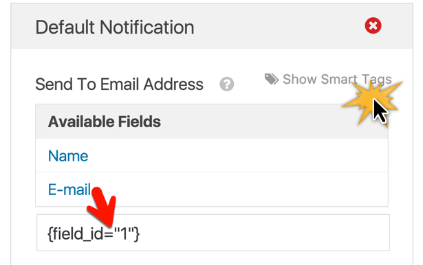 email smart tag
