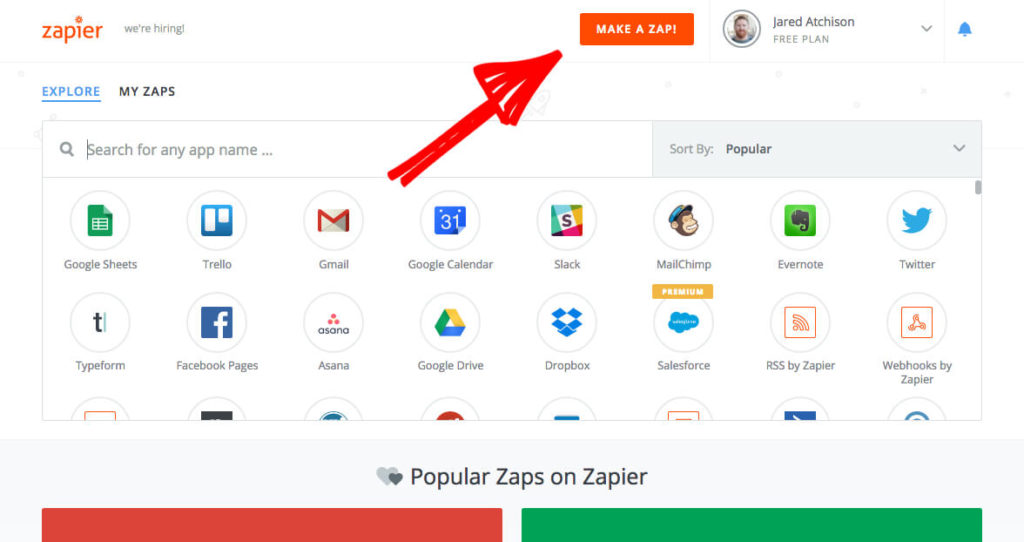 WPForms connecting to Zapier
