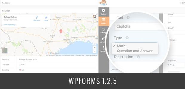 WPForms 1.2.5