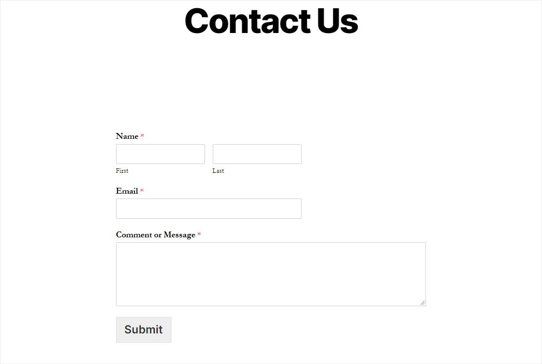 published wordpress duplicate form
