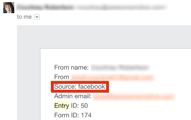 smart tag form email notification