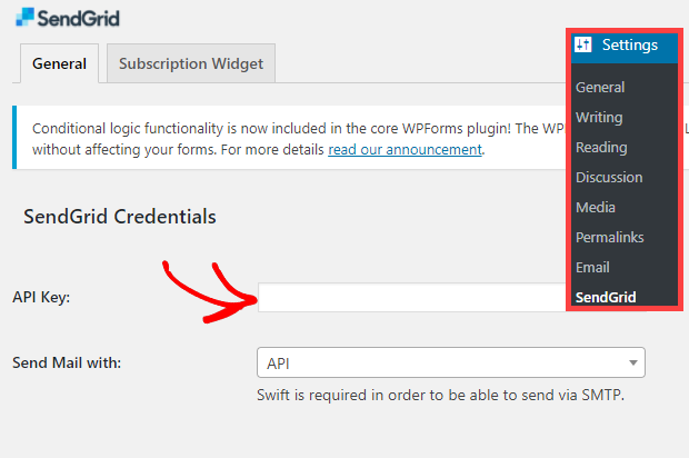 How to set up WordPress Email Notifications with Sendgrid