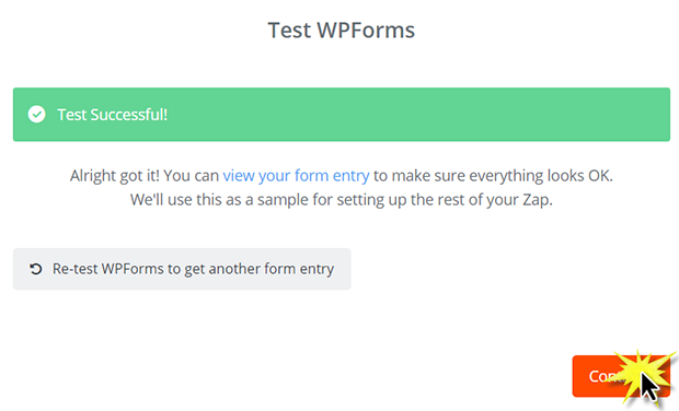Testing WPForms and Zapier