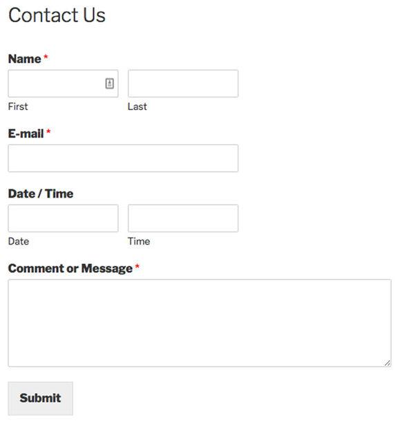 site-form