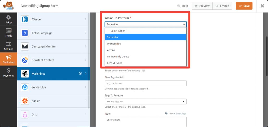 WPForms-mailchimp-addon-features