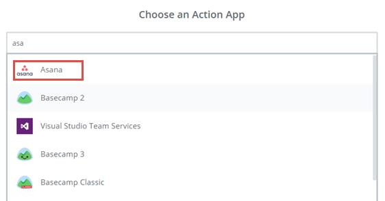 choose asana app