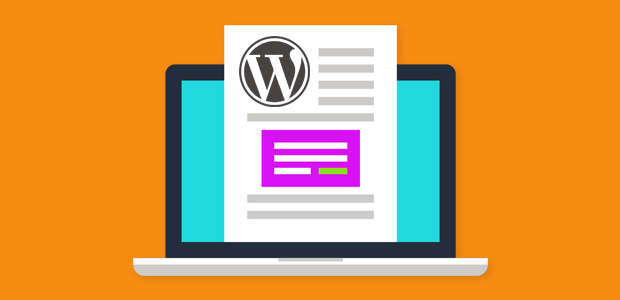 add a contact form in your wordpress post content