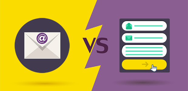 contact form vs email