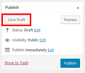 save your service agreement page as a draft so we can add the signature form before publishing