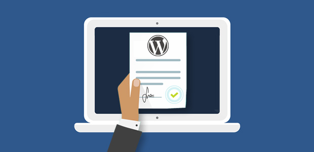 create service agreements in wordpress