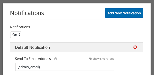 smart tag admin_email