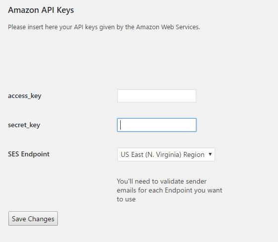 amazon api keys