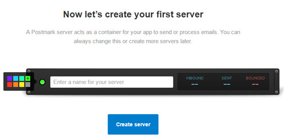 create first server