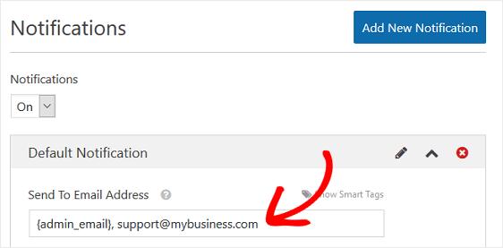 team notification