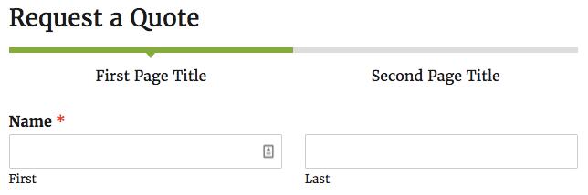 Connector Progress Indicator