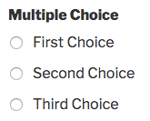 Multiple Choice field
