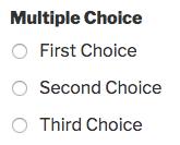 Multiple Choice field