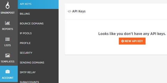 add api keys