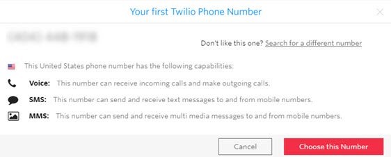 choose this number