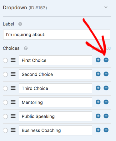 How to Bulk Add Choices for Multiple Choice, Checkbox, and