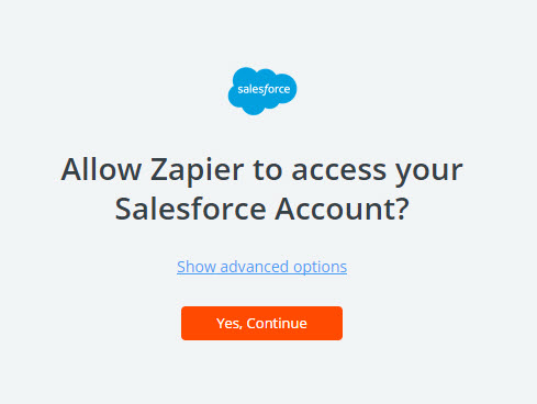 allow zapier to access salesforce