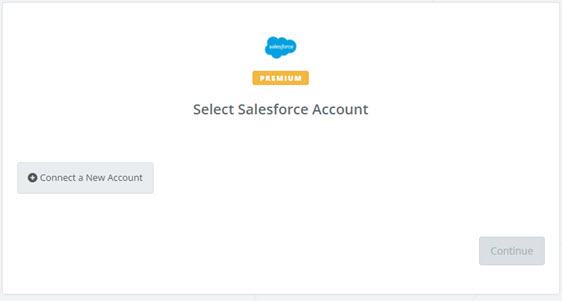connect a new salesforce account1