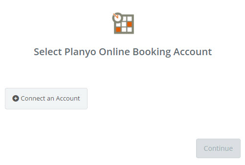 connect planyo account