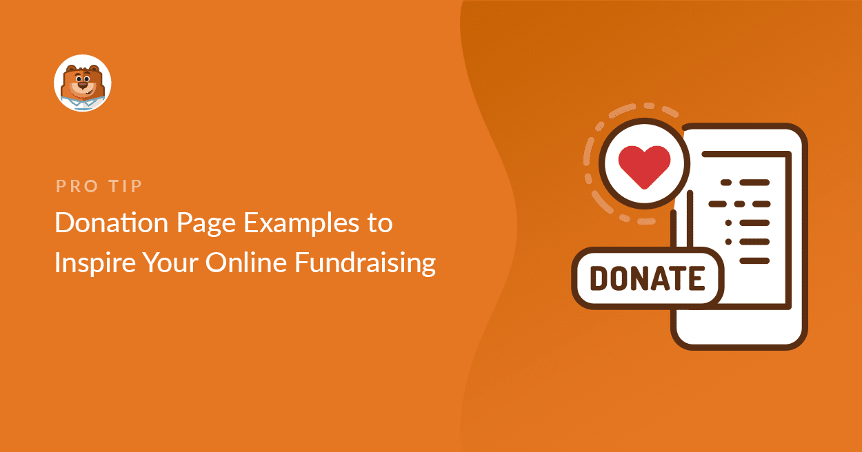 24 Donation Page Examples to Inspire Your Online Fundraising Pertaining To Fundraising Pledge Card Template