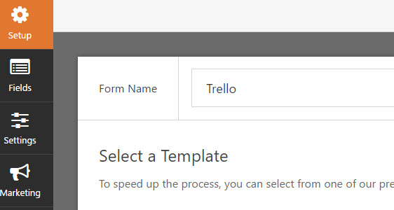 rename your form to trello