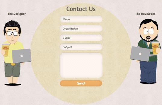 contact form design 2