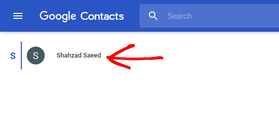 how to add google contacts