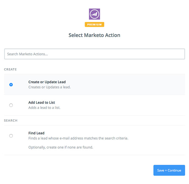 Marketo Action