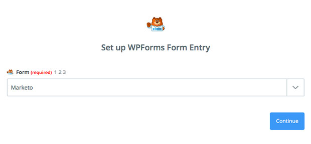Marketo Form Entry