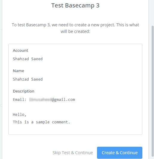 basecamp test