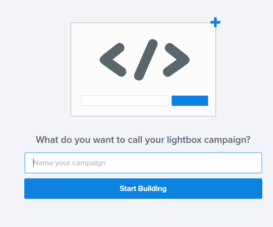 name your lightbox popup