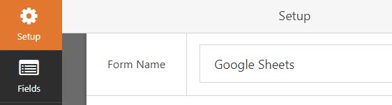rename form as google sheets
