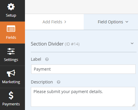customize section divider for pay per post wordpress plugin
