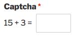 Custom Captcha field in WPForms