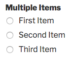 Multiple Items field in WPForms