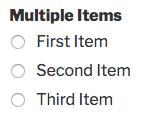 Multiple Items field in WPForms