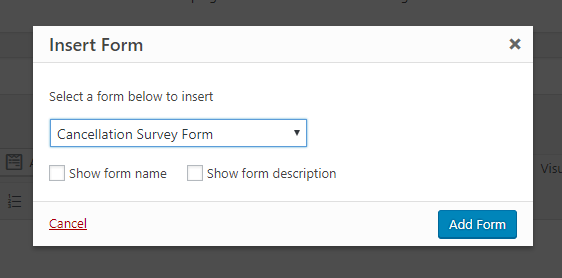 how to create a survey in word